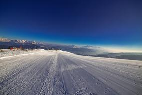 Ski Runway Winter