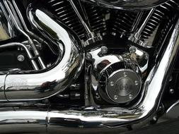 Harley Davidson Chrome machine