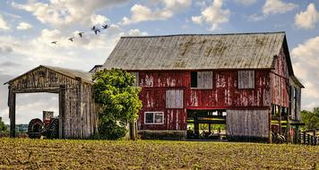 agriculture Barn Rustic