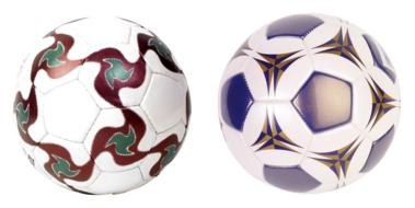 two Soccer Ball