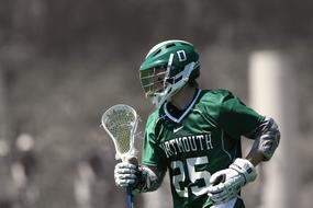 Lacrosse Lax Player green form