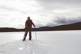 Cross-Country Skiing snow