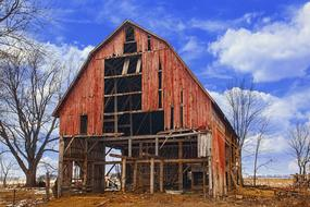 red wood Rustic Barns