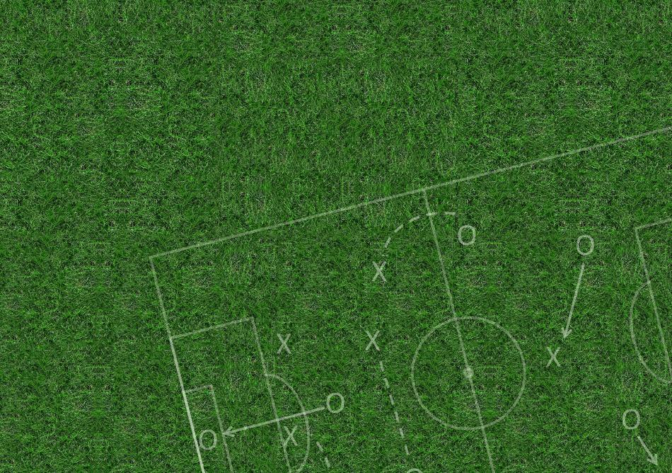 rush football grass play drawing