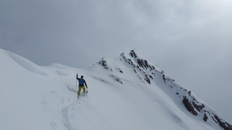 Backcountry Skiiing in Allgäu