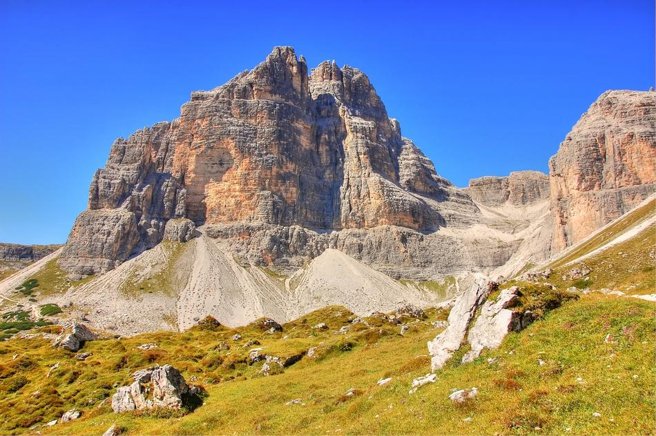 Sesto Dolomites mountains