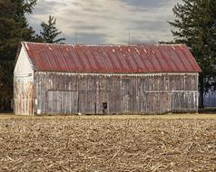 Barn Rustic red roof