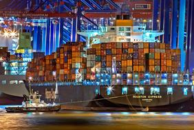 gorgeous Hamburg Port Of Container
