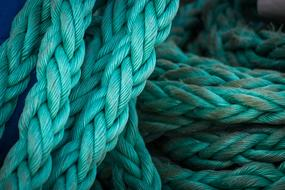 Rope Dew Knot Ship Traffic