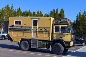 Expedition Camping Vehicle