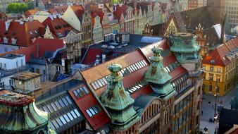 Wrocław The Roofs Color