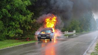 Car Accident Fire