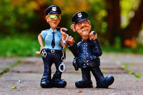 Policewoman Colleagues fig