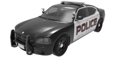 car isolated police car drawing
