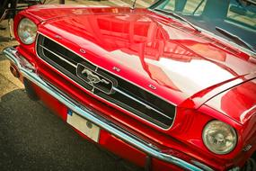 Auto Ford Oldtimer red