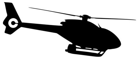 helicopter chopper drawing