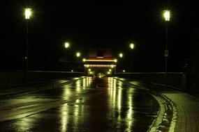 Night Dark road