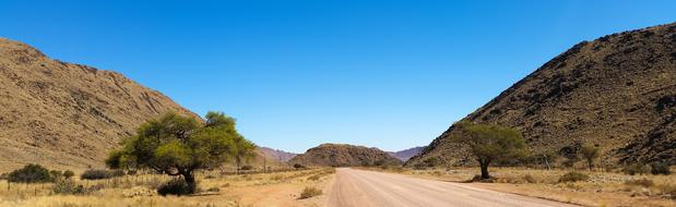 Africa Namibia road