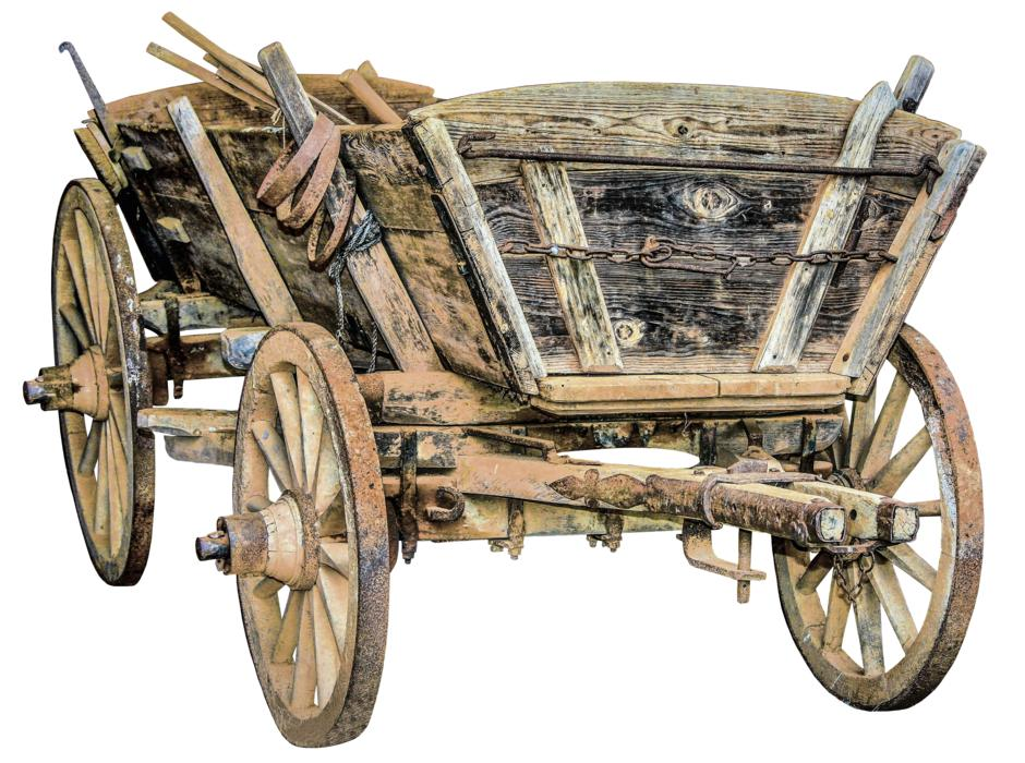Horse Drawn Carriage Wooden