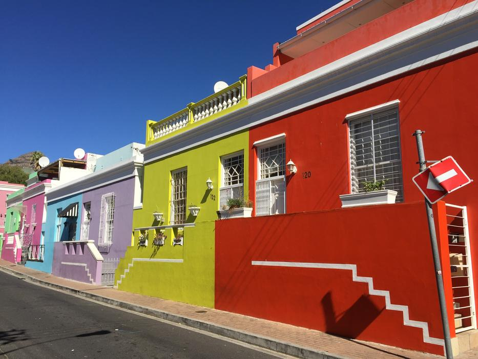 photo of colorful architecture in South Africa