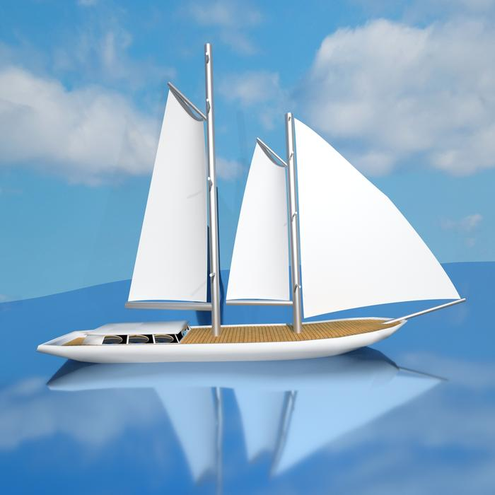 ship yacht sail white drawing