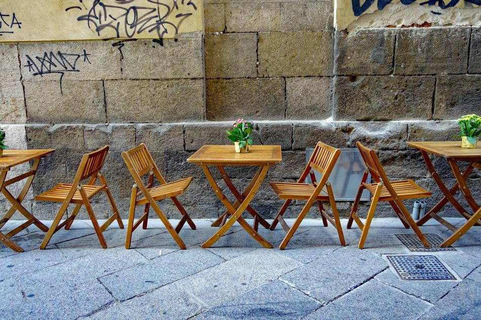 Street Cafe Chairs Dining