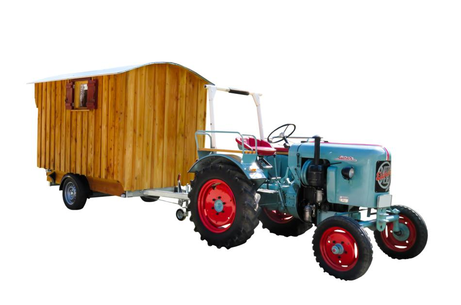 Traffic Tractor 2d model