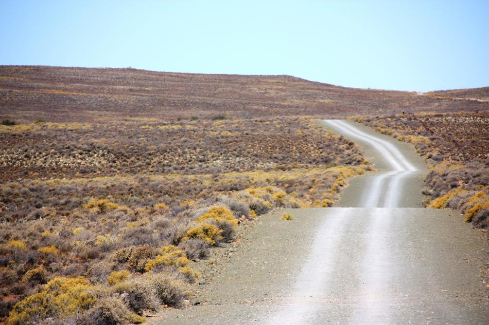 extraordinarily beautiful Karoo Gravel Road