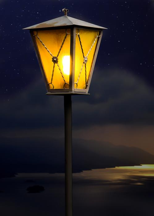 Lantern Lamp yellow