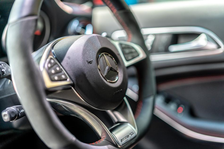 Amg Mercedes Benz steering
