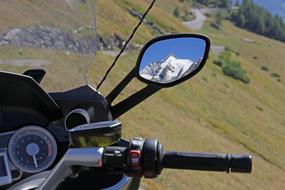 mirror Mountains Motorcycle