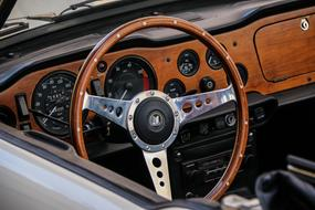 Steering Wheel Classic car