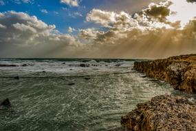 magnificent Rocky Coast and Sea