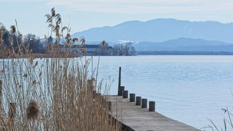 pier on the Chiemsee, Germany