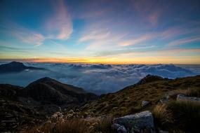 incredible Dawn Clouds Panorma