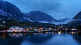 absolutely beautiful Fjord Dawn