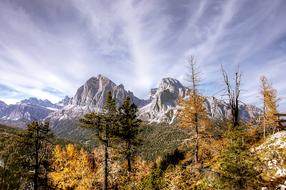 ravishing Tofane Dolomites Nature