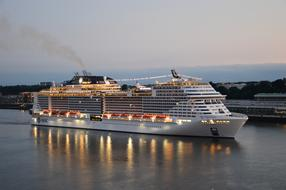 Cruise Ship Elbe