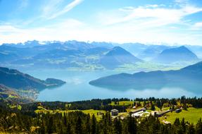 Rigi Kaltbad Lake