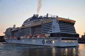 Ship Elbe msc