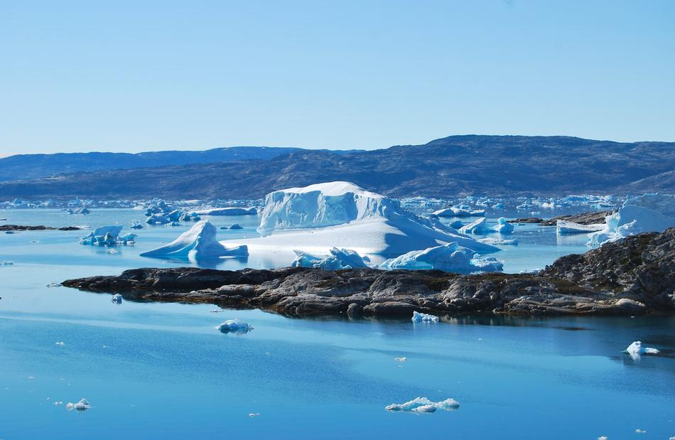 perfect Greenland Iceberg
