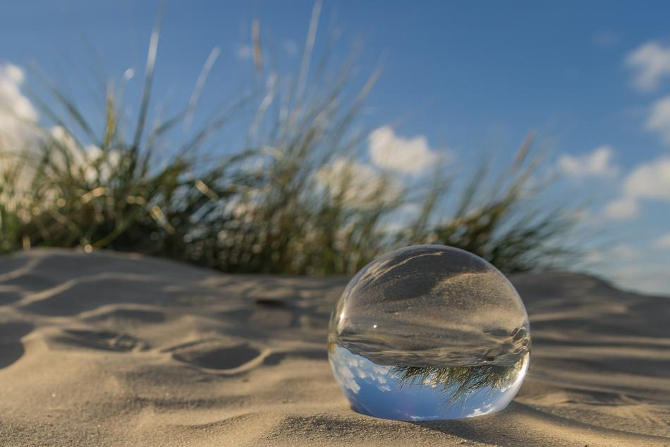 East Frisia North Sea, glass ball