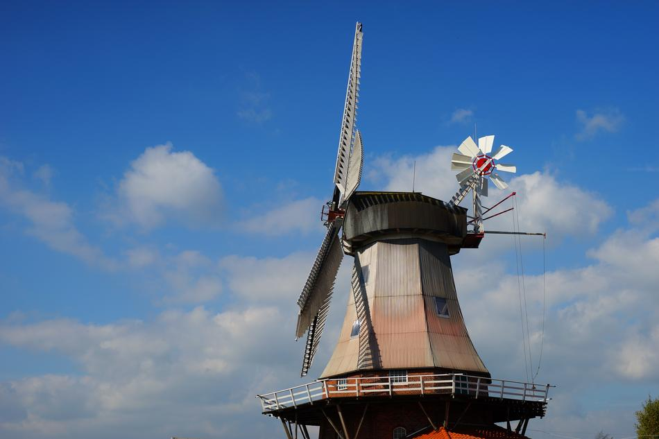 Dutch Windmill as historical architecture
