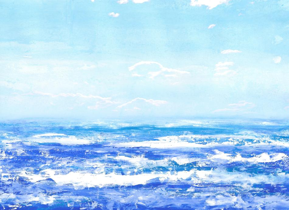 texture sea water blue drawing