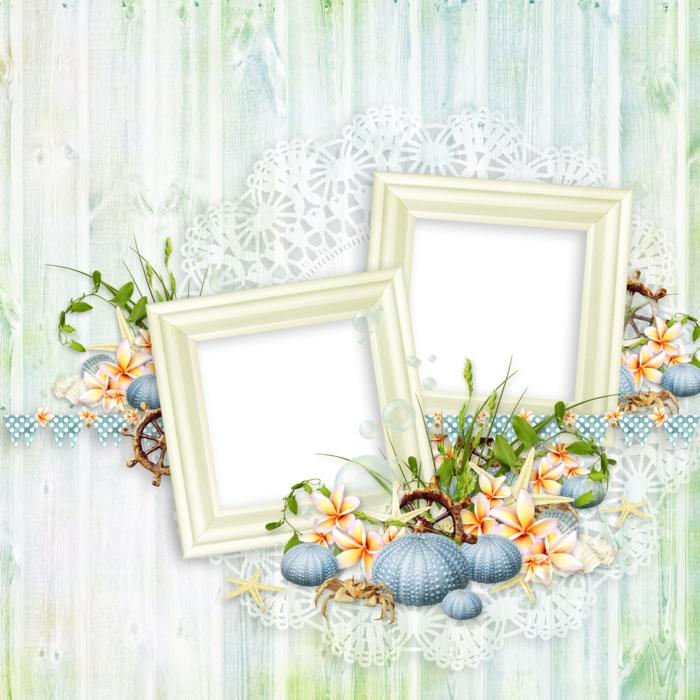 Scrapbooking Frame Decor drawing