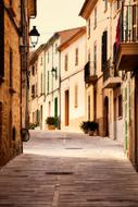 Alcudia Town street