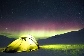 Auroras Camp Tent yellow
