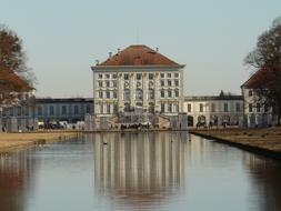 The Nymphenburg Palace is a Baroque palace situated in Munich's western district Neuhausen-Nymphenburg, in Bavaria