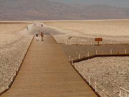 Badwater Salt Pan Lake
