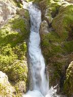 magnificent Neidlinger Waterfall Bach